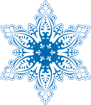 snowflakes PNG7549